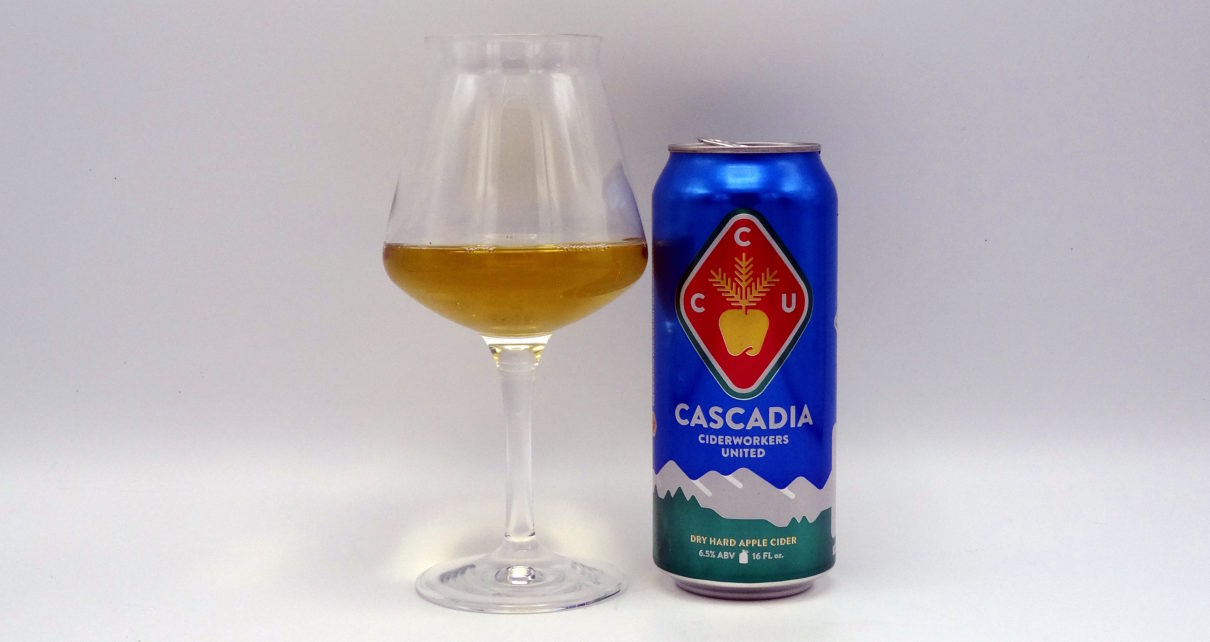 Cascadia Ciderworks United Dry Hard Apple Cider