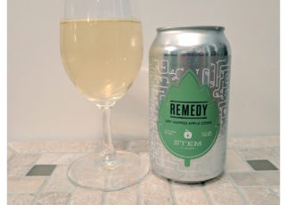 Stem Ciders Remedy Dry Hopped Apple Cider