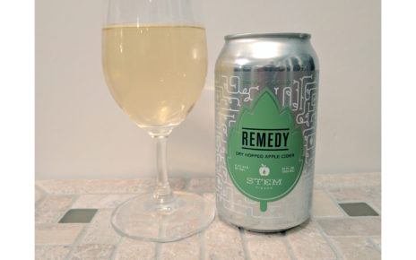 Stem Ciders Remedy Dry Hopped Apple Cider