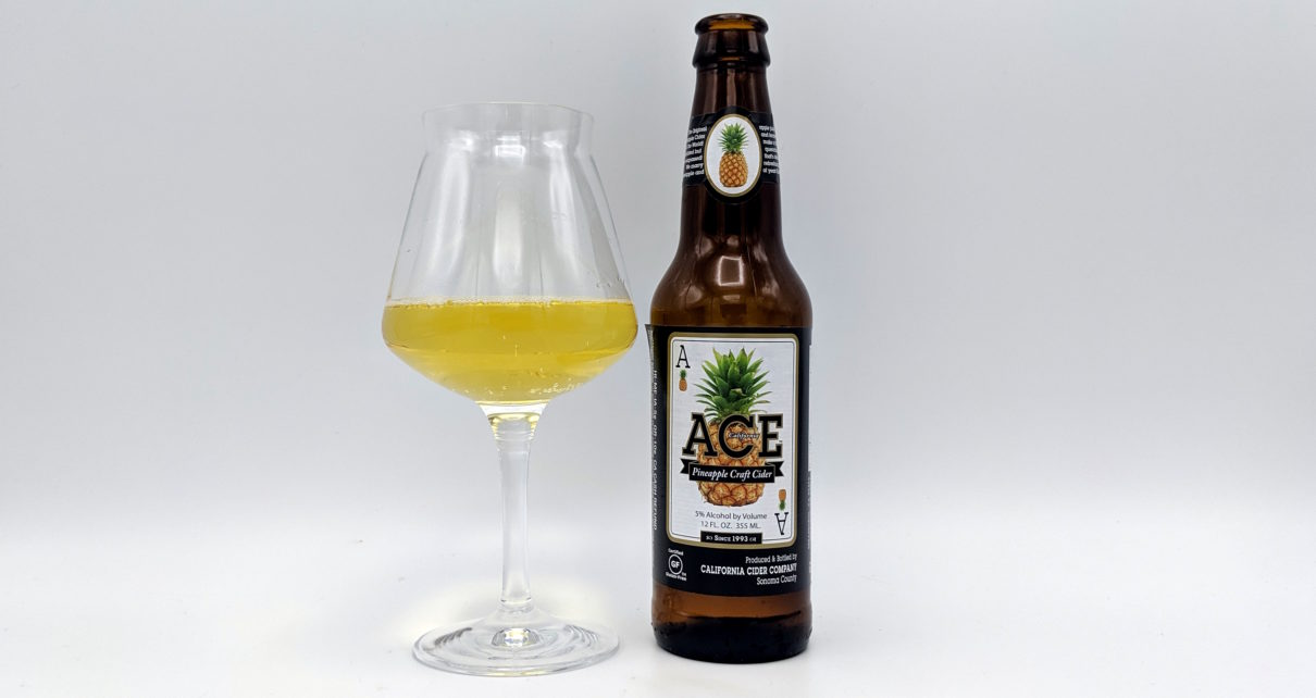 Ace Premium Craft Cider Pineapple Hard Cider