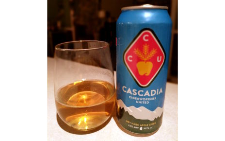 Cascadia Ciderworks United Dry Hard Apple Cider