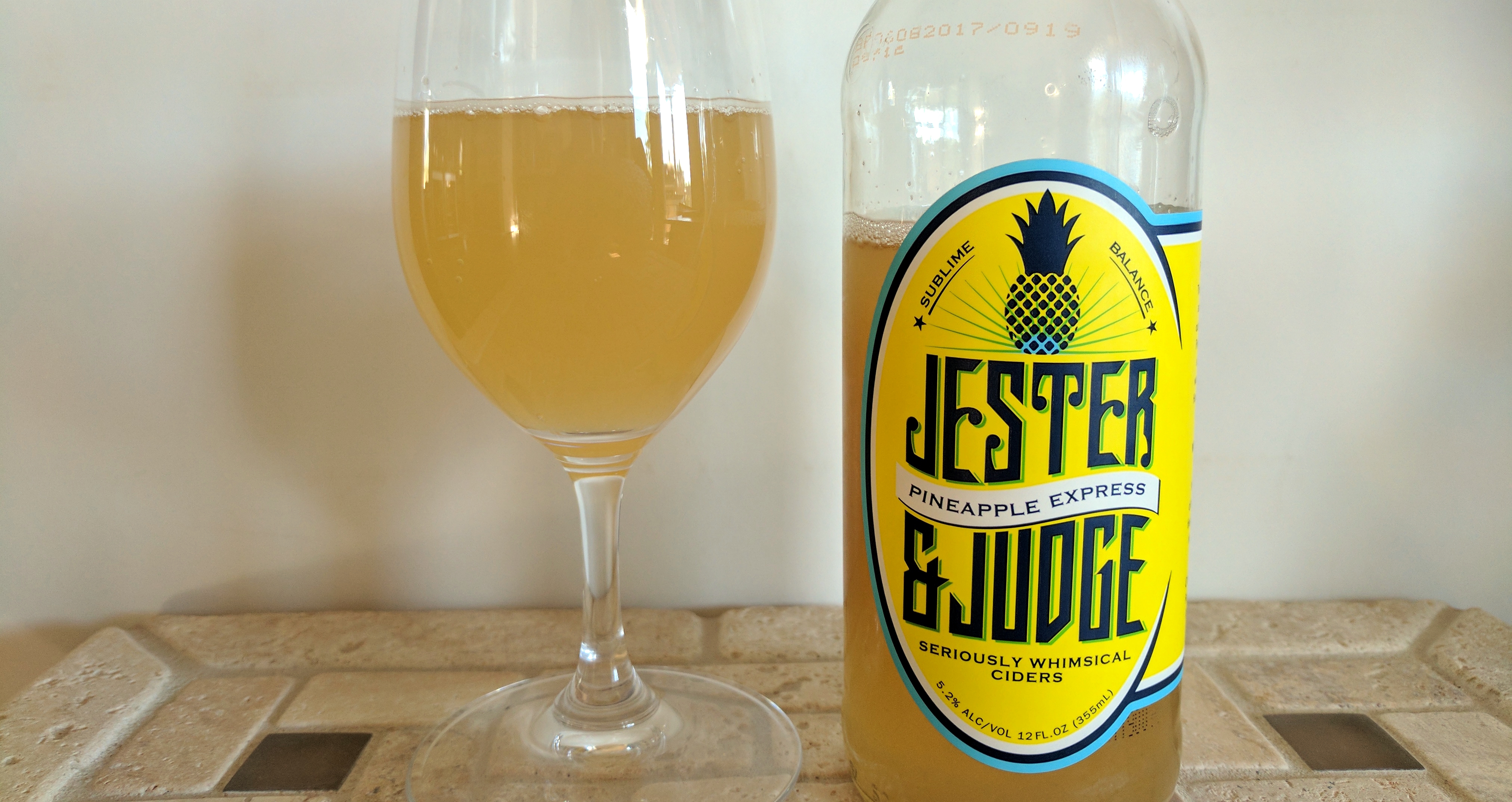 Jester and Judge Pineapple Express Cider