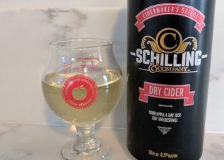 Schilling Hard Cider London Dry English Pub Style Cider