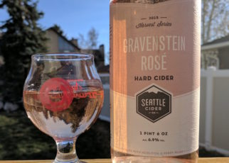Seattle Cider Co Gravenstein Rose 2015 Harvest Series