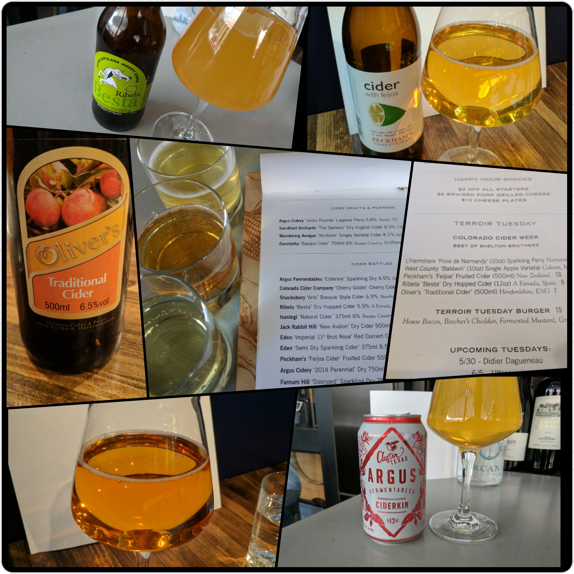 Colorado Cider Week 2017 Day 2 - Shelton Brothers cider tasting - Arcana Terroir Tuesday - Boulder, CO