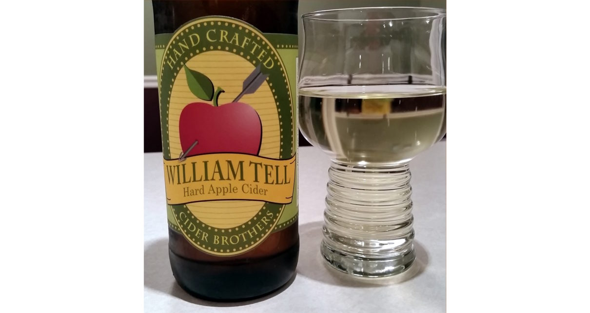 Cider Brothers William Tell Hard Apple Cider