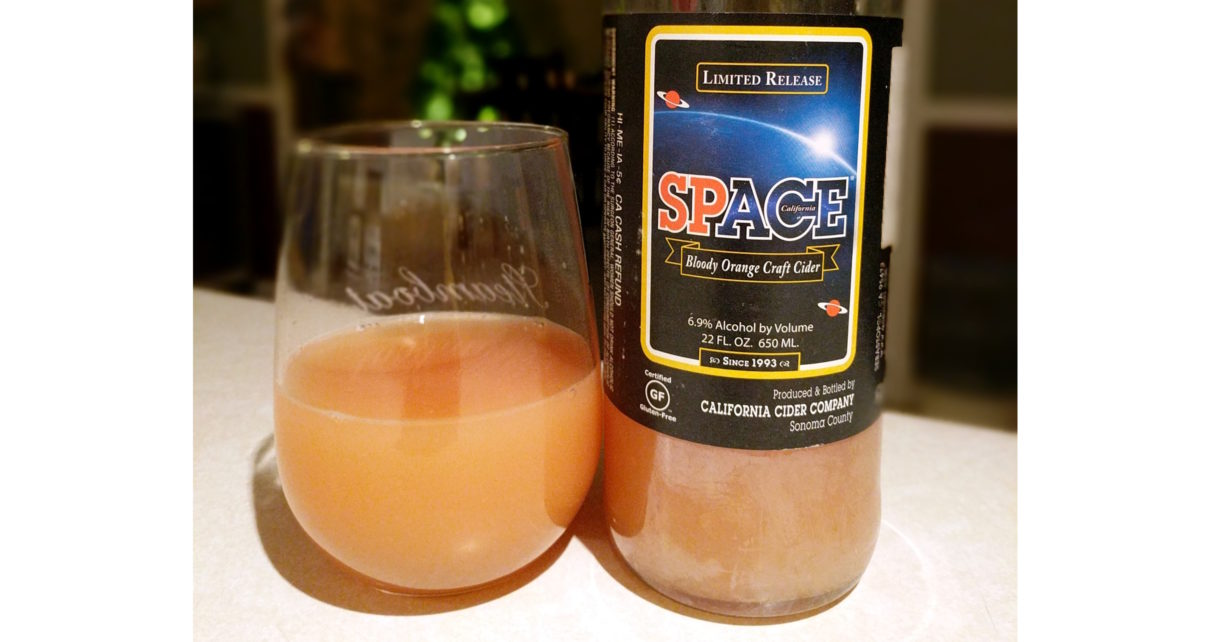 Ace Premium Craft Cider SpACEe Bloody Orange Craft Cider
