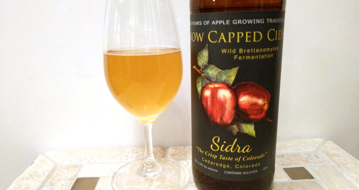 Snow Capped Cider Sidra