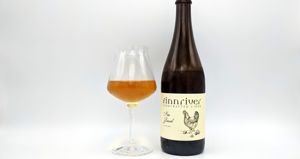 Finnriver Cider Fire Barrel
