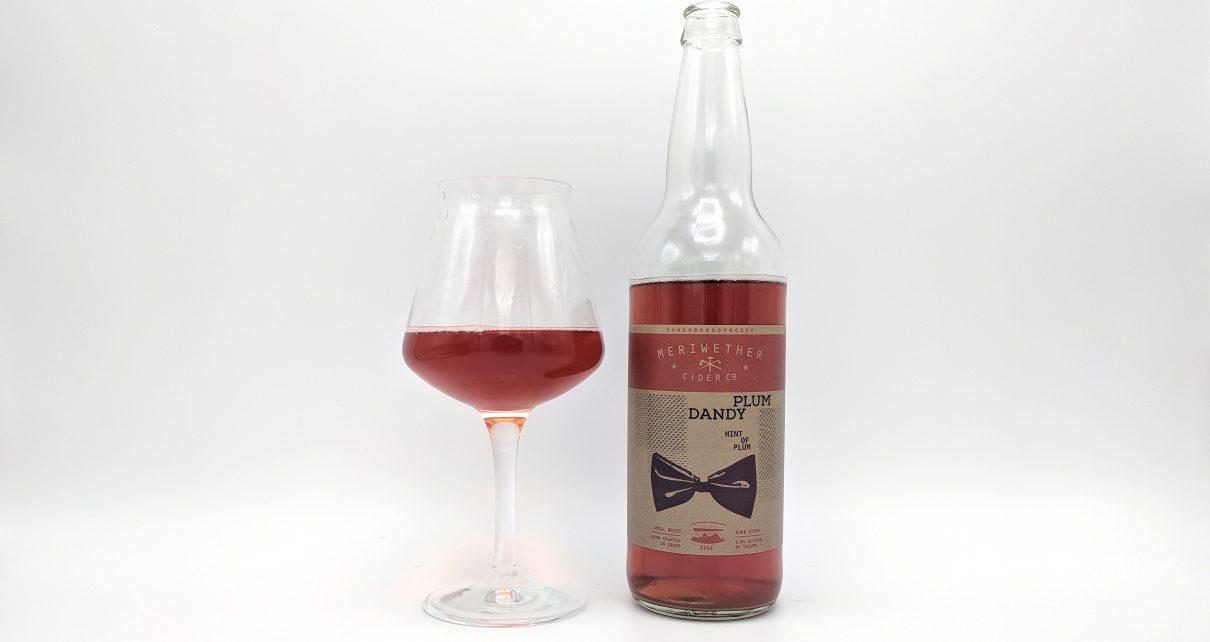 Meriwether Cider Co Plum Dandy