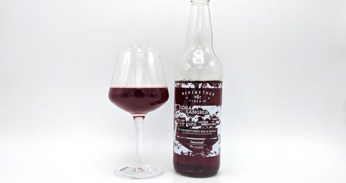 Meriwether Cider Co Sidra Sangria