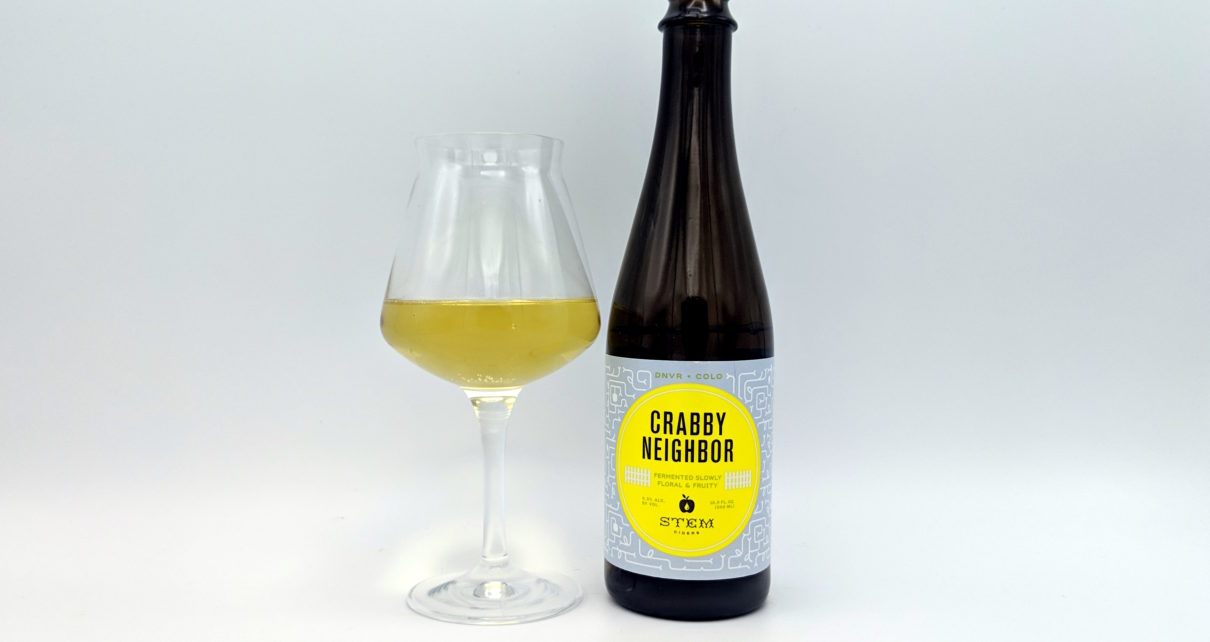 Stem Ciders Crabby Neighbor