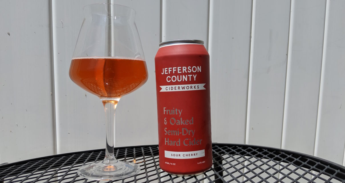 Jefferson County Ciderworks Oaked Sour Cherry