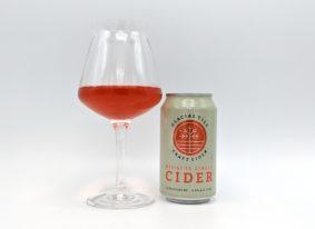 Glacial Till Craft Cider Hibiscus Ginger Cider