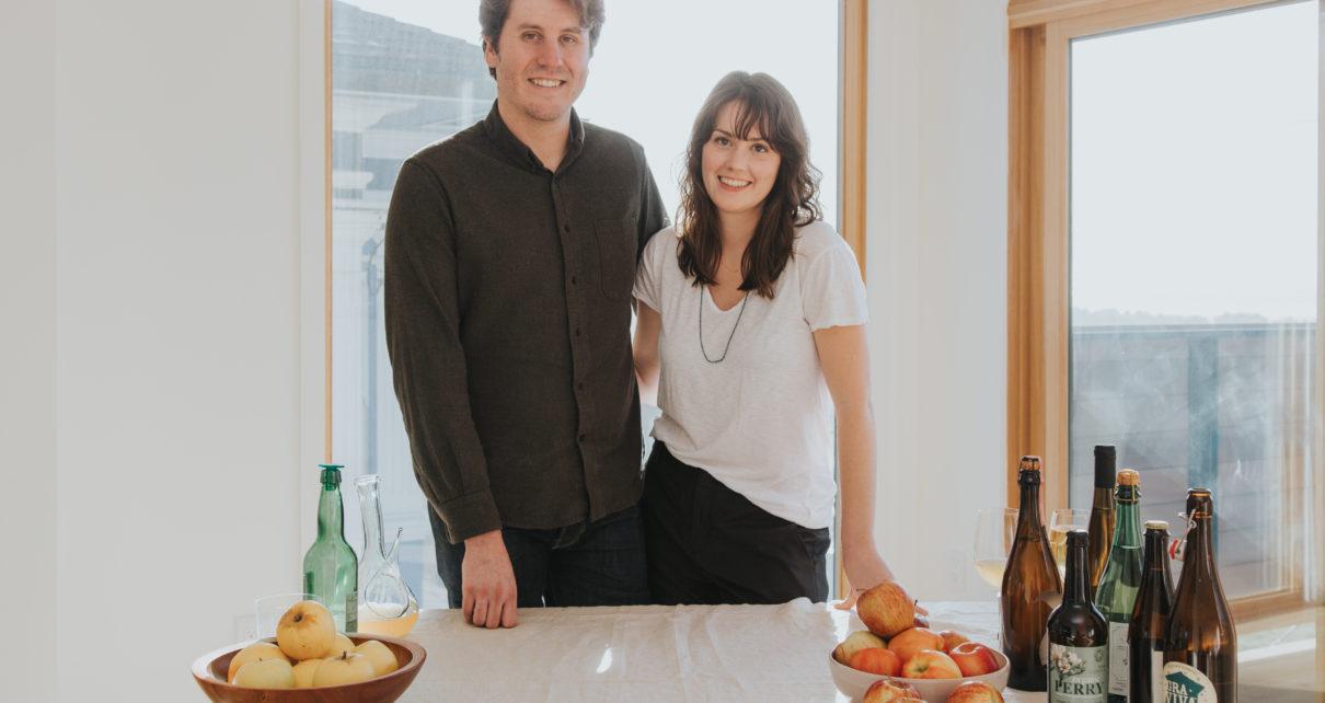 Mike Reis & Olivia Maki, Propietors of Redfield Cider Bar & Bottle Shop in Oakland, California