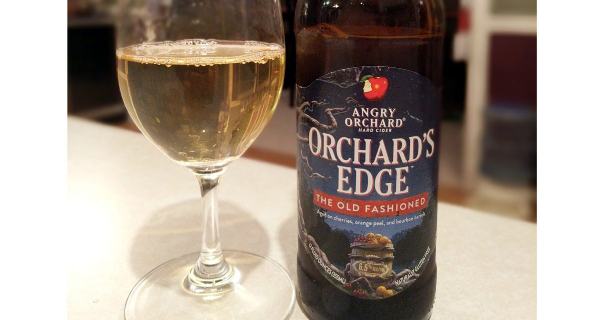 Angry Orchard Hard Cider Orchards Edge The Old Fashioned