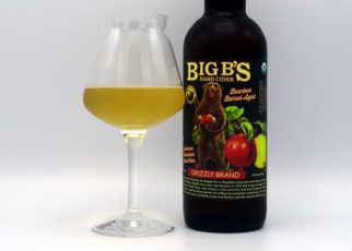 Big B's Hard Cider Grizzly Brand Bourbon Barrel Aged