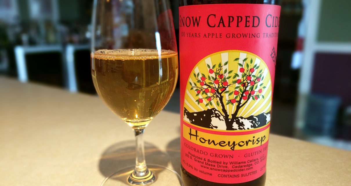 Snow Capped Cider Honeycrisp