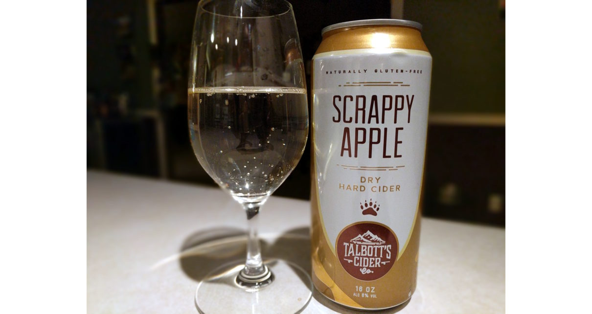 Talbotts Cider Co Scrappy Apple Dry Hard Cider
