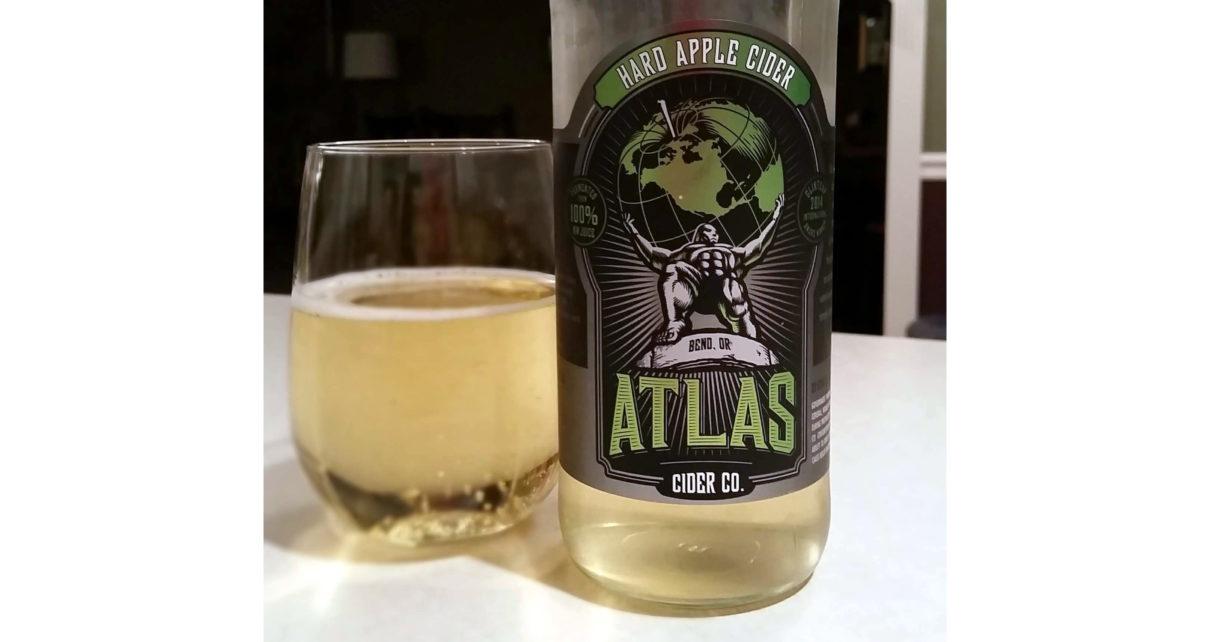 Atlas Cider Co Hard Apple Cider