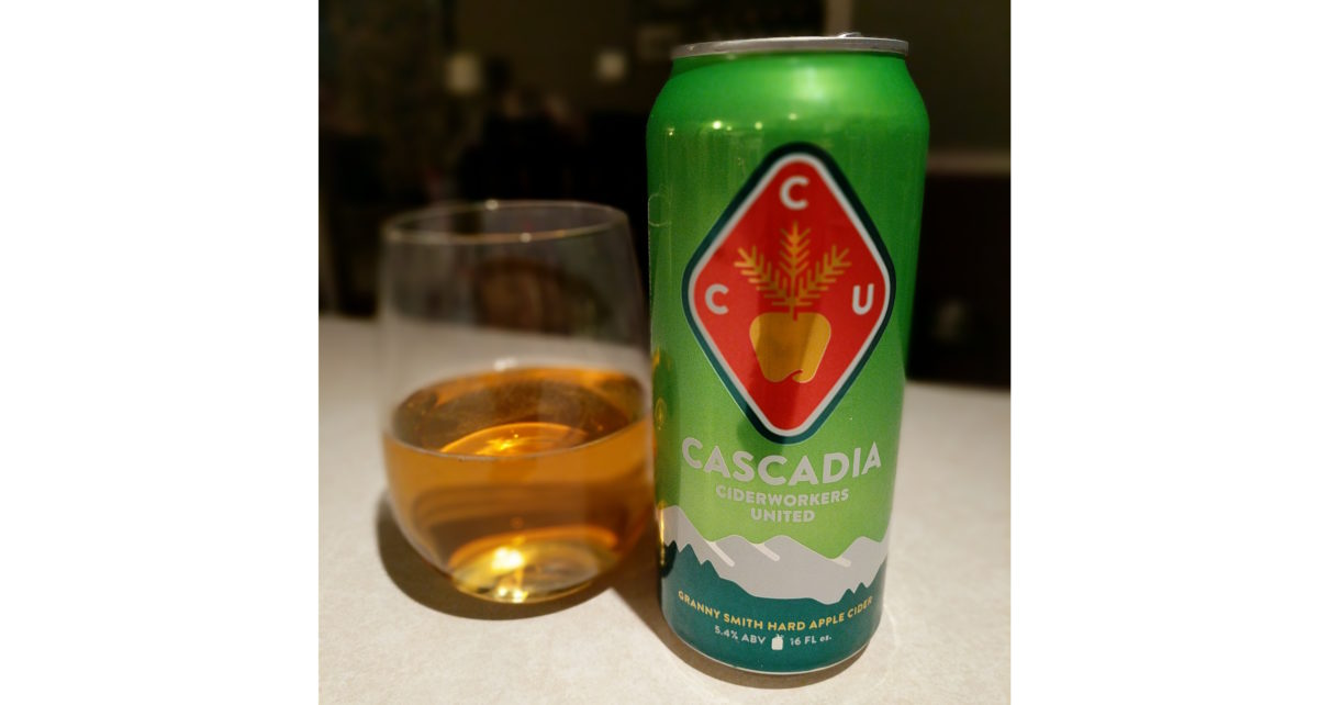 Cascadia Ciderworks United Granny Smith Hard Apple Cider