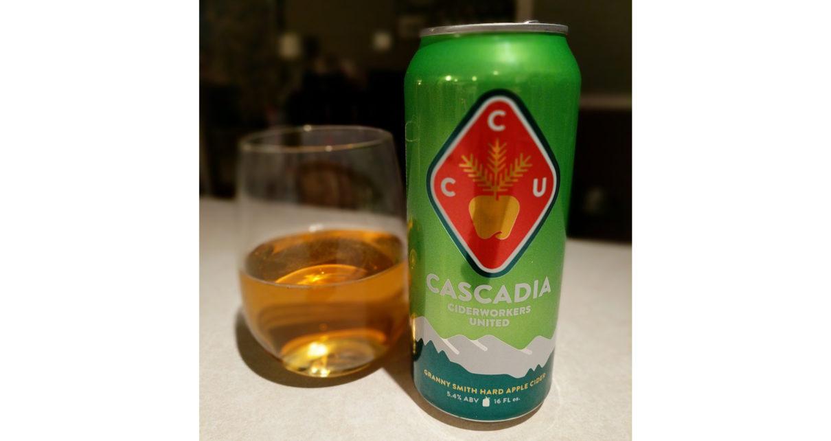 Cascadia Ciderworks United Granny Smith Hard Apple Cider