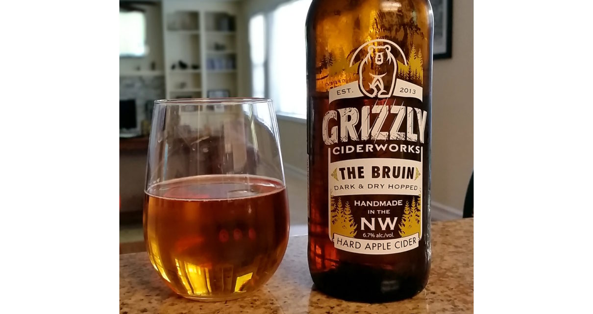 Grizzly Ciderworks The Bruin Dark and Dry Hopped