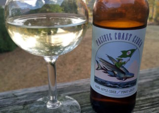 Pacific Coast Cider Hard Apple Cider with Pinot Grigio