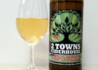 2 Towns Ciderhouse Imperial Hop and Stalk