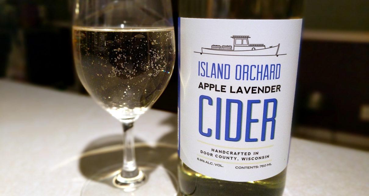 Island Orchard Cider Apple Lavender Cider
