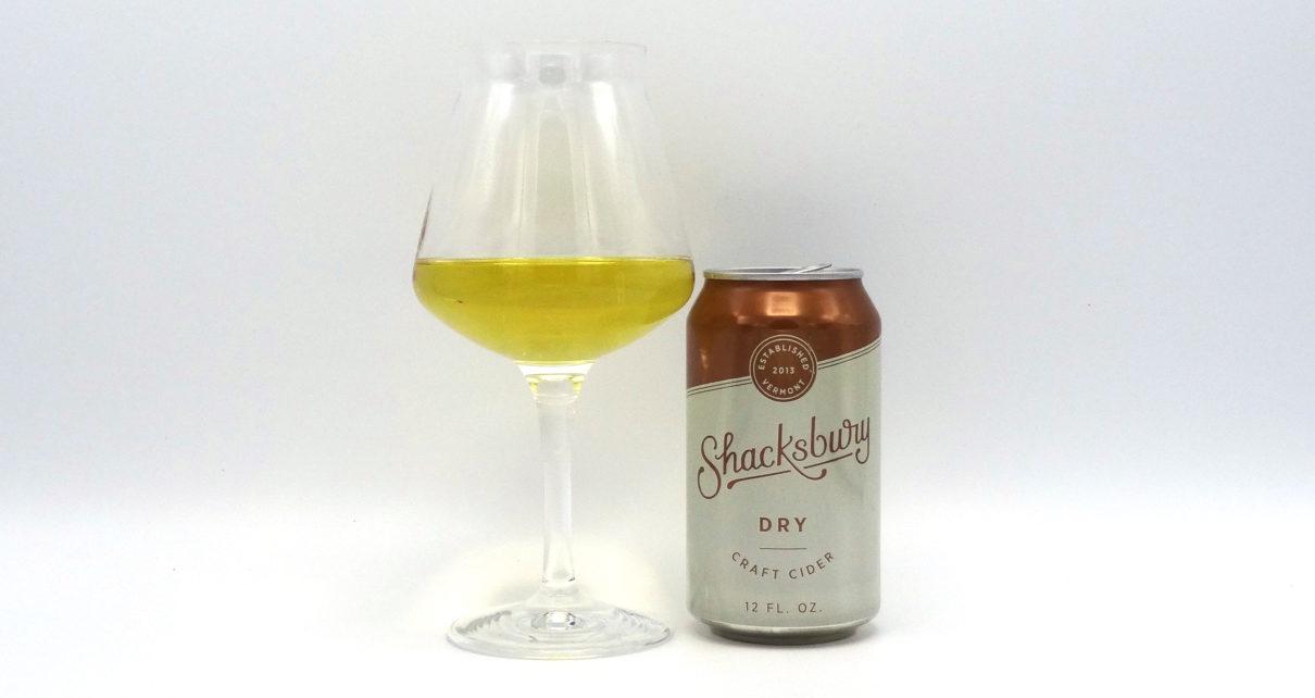 Shacksbury Craft Cider Dry