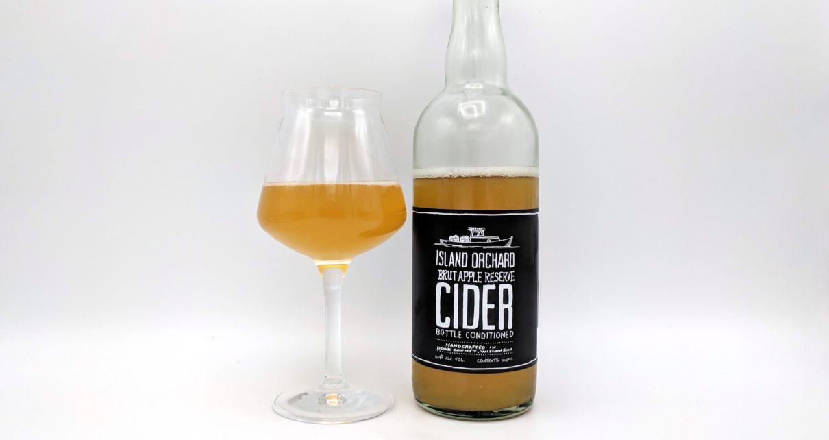 Island Orchard Cider Brut Apple Reserve Cider