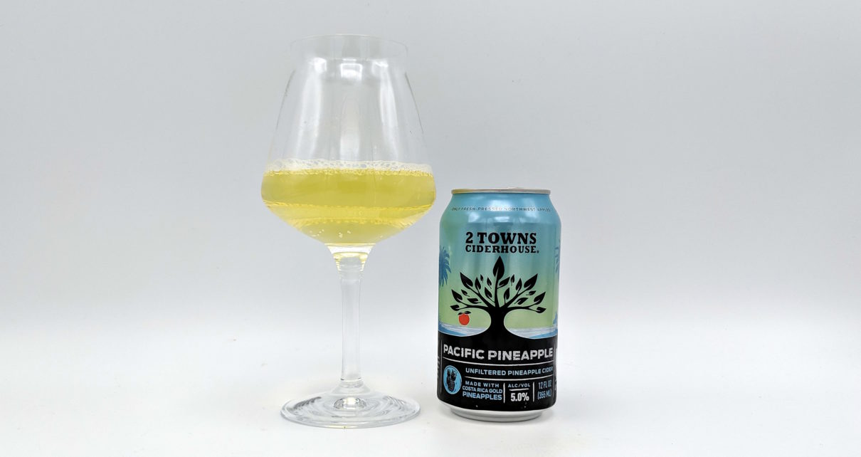 2 Towns Ciderhouse Pacific Pineapple