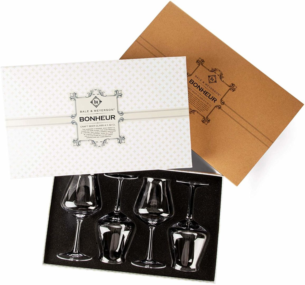 Rastal Teku Craft Beer and Cider Glasses - Gift Box Set
