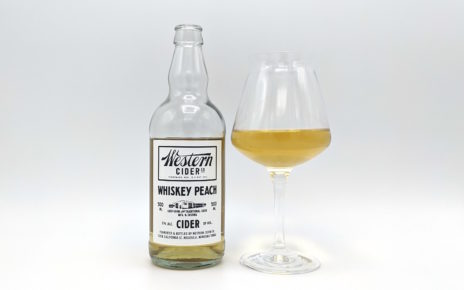 Western Cider Co Whiskey Peach