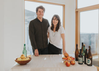 Mike Reis & Olivia Maki, Propietors of Redfield Cider Bar & Bottle Shop in Oakland, California