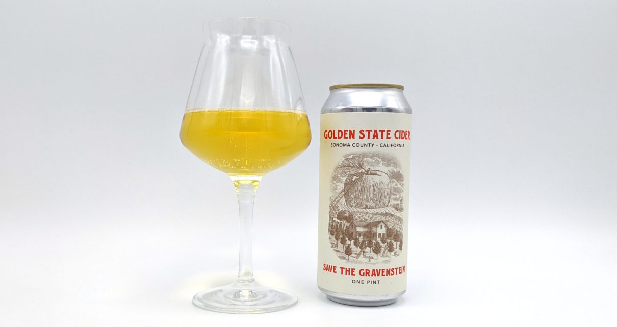 Golden State Cider Save the Gravenstein