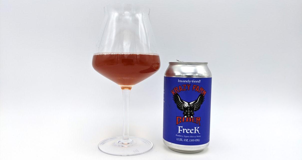 Krazy Farm Cider Freek