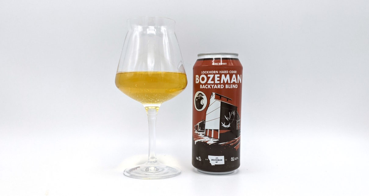 Lockhorn Hard Cider Bozeman Backyard Blend Semi-Sweet