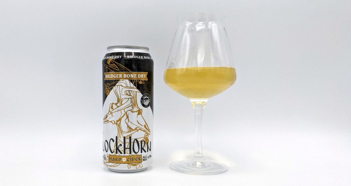 Lockhorn Hard Cider Bridger Bone Dry
