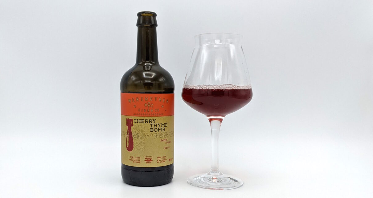 Meriwether Cider Co Cherry Thyme Bomb