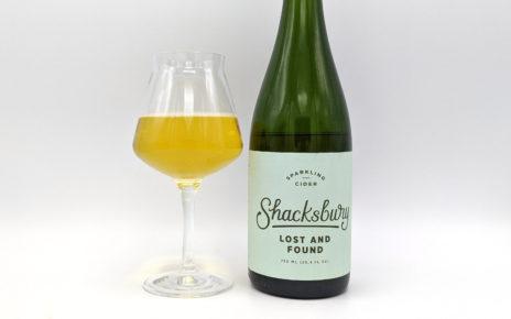 Shacksbury Craft Cider Lost and Found