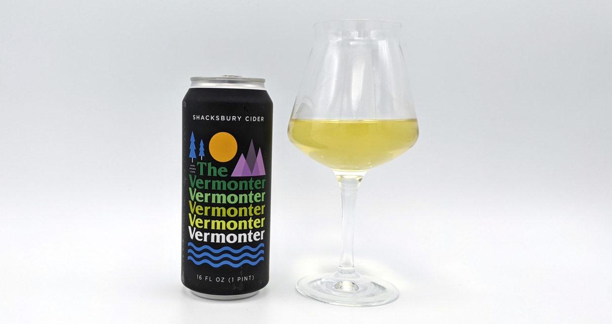 Shacksbury Craft Cider The Vermonter