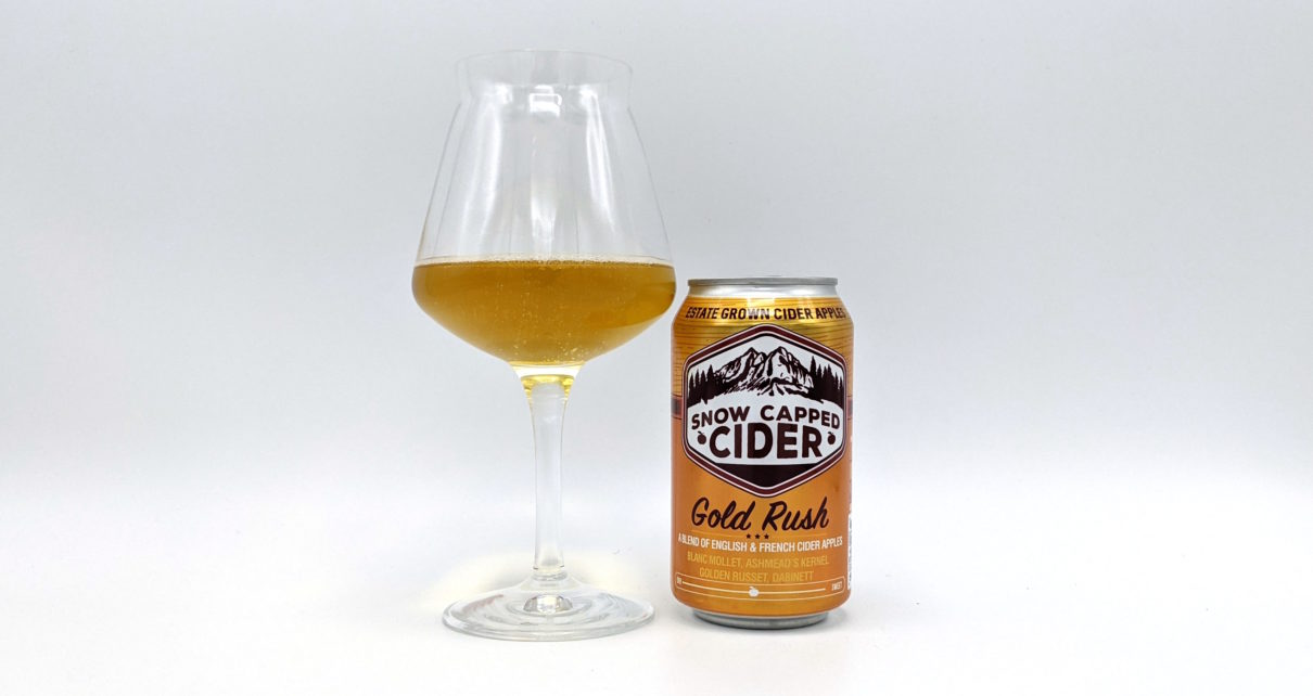 Snow Capped Cider Gold Rush