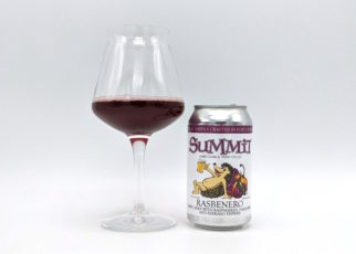 Summit Hard Cider Rasbenero